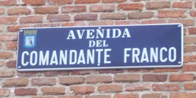 El Ayuntamiento de Madrid aprobará retirar los nombres franquistas de las calles para