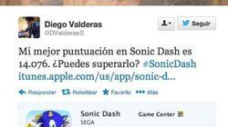 Valderas, vicepresidente de Andalucía (IU), 'pillado' jugando al Sonic