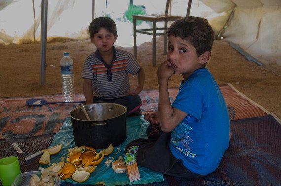 Una campaña para traer a España a Mudafar y Ahmed, dos niños refugiados
