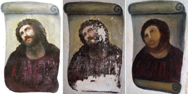 Cristo de Borja: un año del Ecce Homo que se convirtió