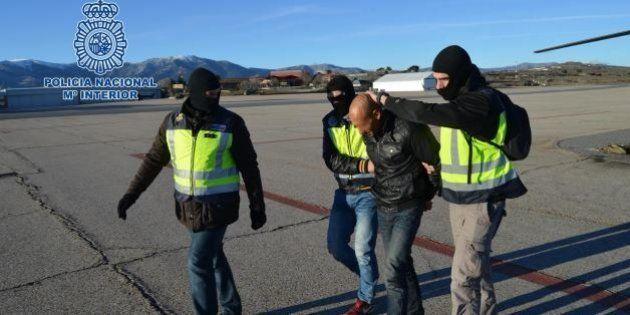 Detenidos en Ceuta cuatro presuntos