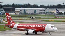 Desaparece un avión de AirAsia con 162 personas a bordo con destino