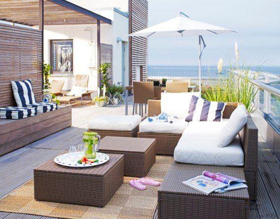 Cómo reconvertir tu terraza sin hacer una gran