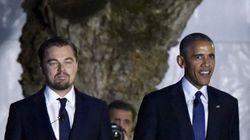 Obama y DiCaprio, juntos en la Casa Blanca por el cambio