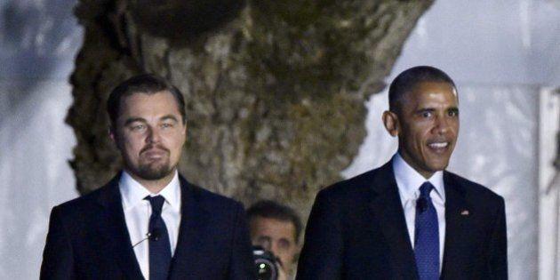 Barack Obama y Leonardo DiCaprio suman fuerzas contra el cambio