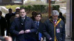 Rajoy, obligado a identificarse en Bruselas al no ser