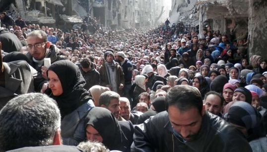 Esta foto de un campo de refugiados en Siria te dejará sin