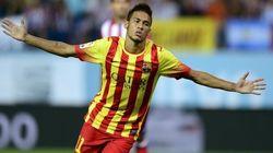 Neymar salva la cara del Barça frente al