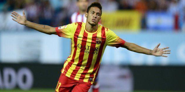 Neymar salva para el Barcelona el partido de Supercopa frente al Atlético