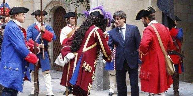 Esta foto de Puigdemont está dando mucho que