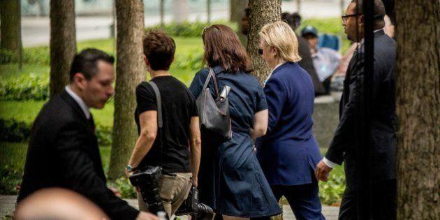 Hillary Clinton abandona los actos en memoria del 11-S por una indisposición