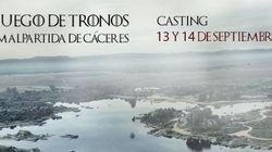 Ya está todo listo en Cáceres para el 'casting' de 'Juego de