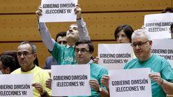 La oposición, contra el silencio de Rajoy: