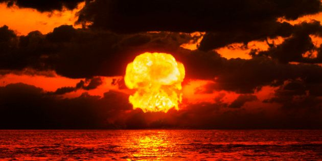 Nuclear Explosion Over