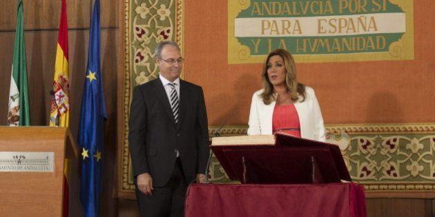 Susana Díaz toma posesión de su cargo como presidenta de la Junta