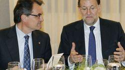 Mas niega que chantajeara a Rajoy:
