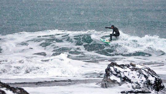 Surf en lugares extremos: Kamchatka