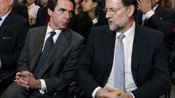 Aznar pide a Rajoy mano dura contra el