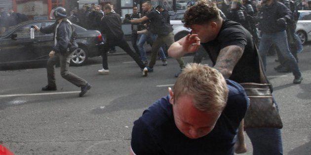 La policía francesa detiene a otros 36 hinchas en Lille en nuevos