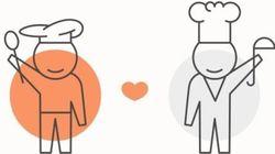 Refoodgee: la 'app' que une a berlineses y refugiados en torno a una