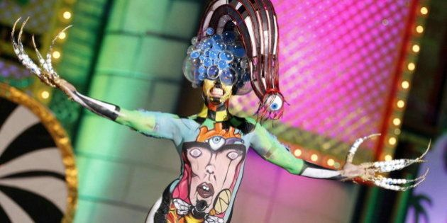 Maquillaje corporal con premio: 'La mala educación' gana el certamen de 'body painting' de Las