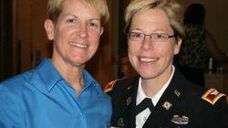 Es militar, lesbiana y la acaban de nombrar