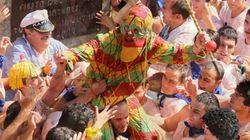 Agua, sidra, tomate y uvas: los ingredientes de las fiestas populares más