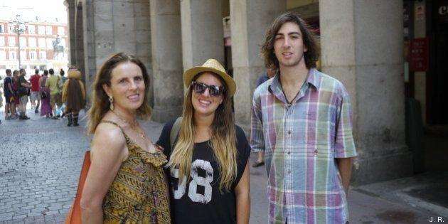 Turistas extranjeros en Madrid: