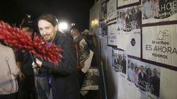 Pablo Iglesias iniciará la campaña pegando carteles en
