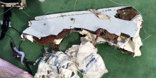 Hallados los restos de Egyptair en el
