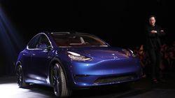 Elon Musk dévoile la Tesla Model Y, un SUV électrique