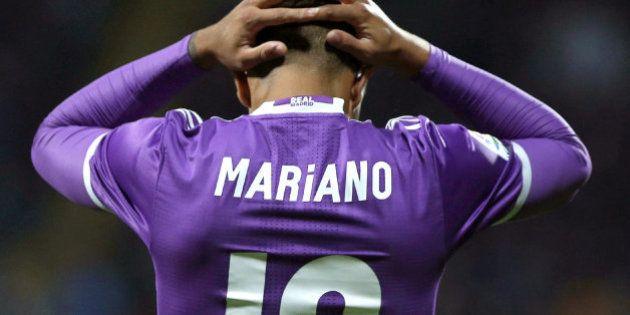 El canterano del Real Madrid Mariano consigue el 'trending topic' más