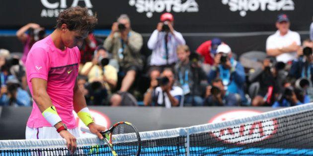 Nadal, eliminado en cuartos del Open de Australia ante