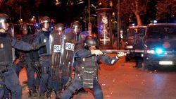 El ministro felicita a la Policía tras las cargas (FOTOS, VÍDEOS,
