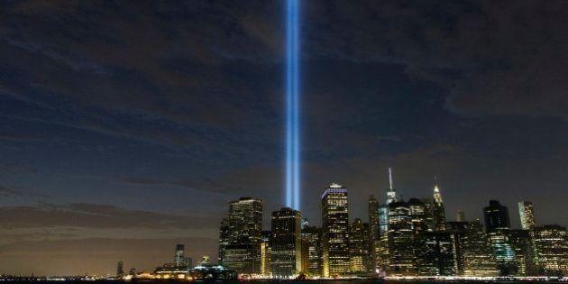 Las imágenes de la ceremonia para recordar a las víctimas de los atentados del 11-S