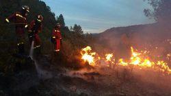 Una negligencia es la causa más probable del incendio forestal de