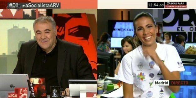 El cómico momento entre Antonio García Ferreras y Ana Pastor en pleno