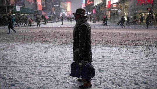 Nueva York, paralizada por la nieve