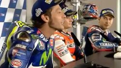 La bronca entre Rossi y Lorenzo en plena rueda de prensa: