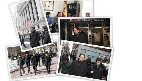 El álbum de fotos de Pablo Iglesias en Nueva