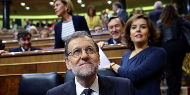 Rajoy, sobrado y sin