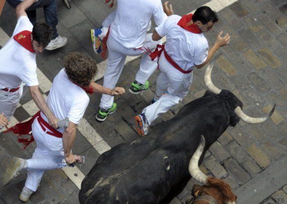 Segundo encierro de San Fermín 2015: rápido, limpio y con solo un herido por asta de toro