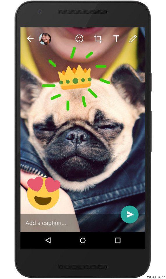 WhatsApp se convierte en Snapchat: ahora permite pintar las