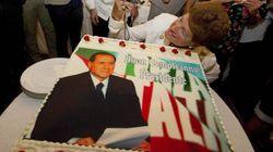 Berlusconi, en su cumpleaños: