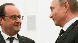 Hollande y Putin acuerdan intensificar sus ataques contra el Estado Islámico en