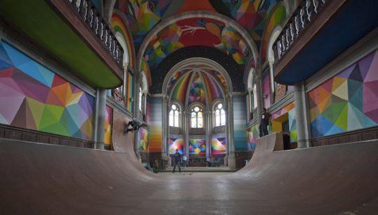 Una iglesia abandonada en Asturias, transformada en templo del