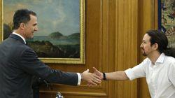 Pablo Iglesias pide un pacto de Gobierno con el PSOE e IU y ser