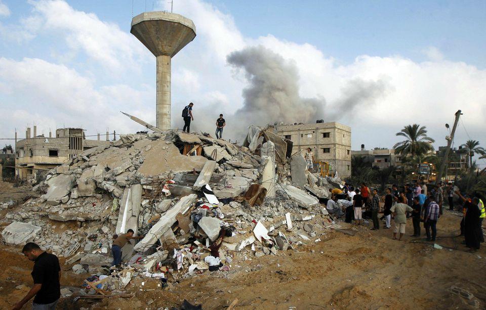 La destrucción en Gaza, un año después de los ataques isralíes (FOTOS ANTES Y