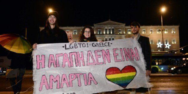 Grecia aprueba la ley de uniones
