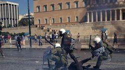 Grecia se echa a la calle contra los recortes (VÍDEO,